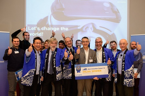 GiPStech is the winner of the Italian Edition of the NTT Data Open Innovation Contest