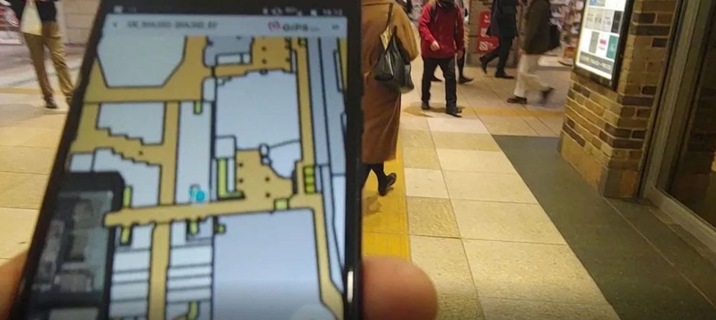 GiPStech completes deployment of the first high-precision completely infrastructure-free navigation system at Tokyo Shinjuku metro station
